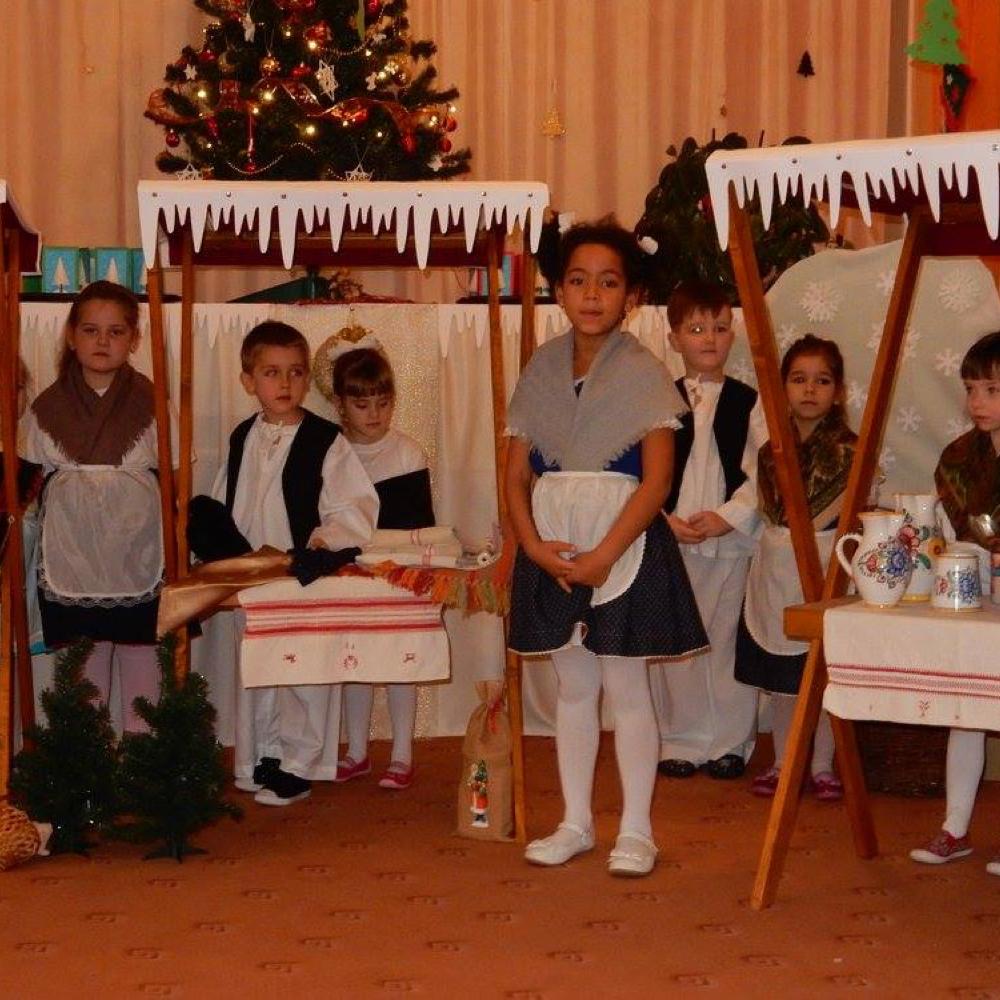 Karácsonyi ünnep a muzslai óvodában
