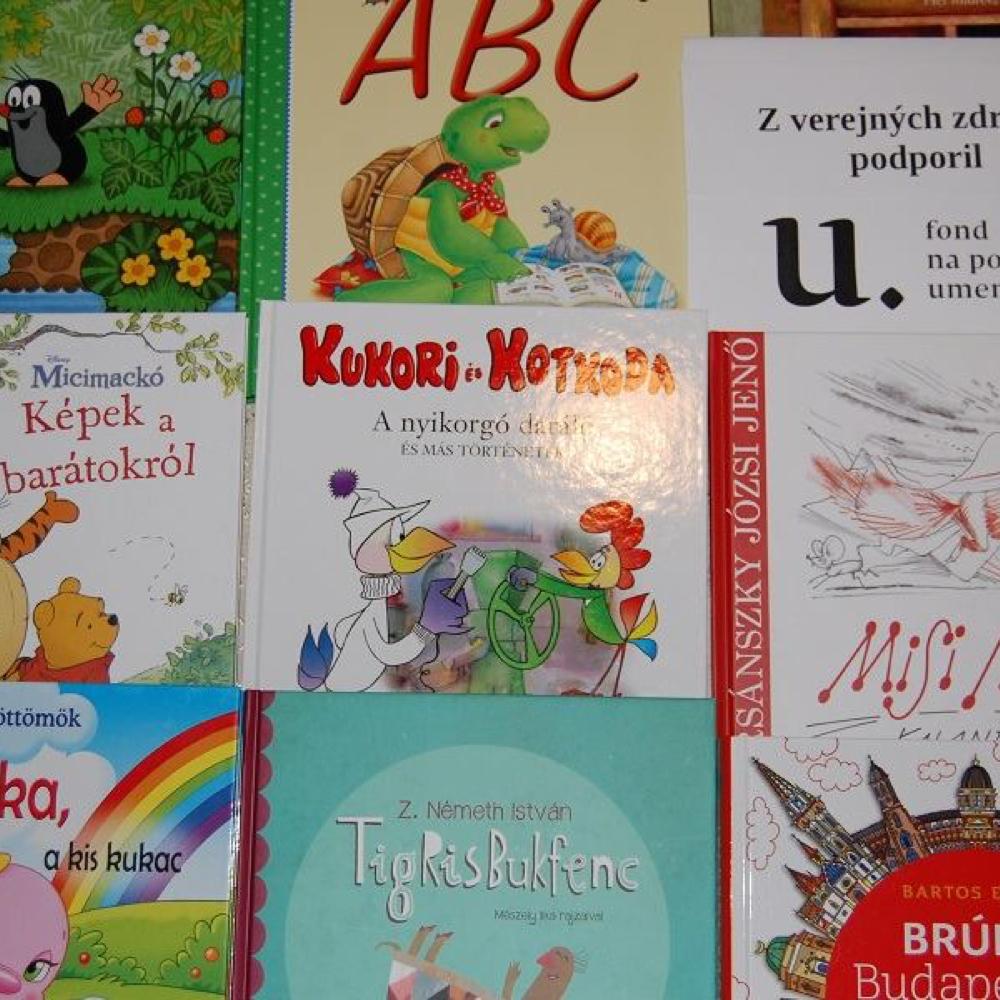 Új könyvek a könyvtárban