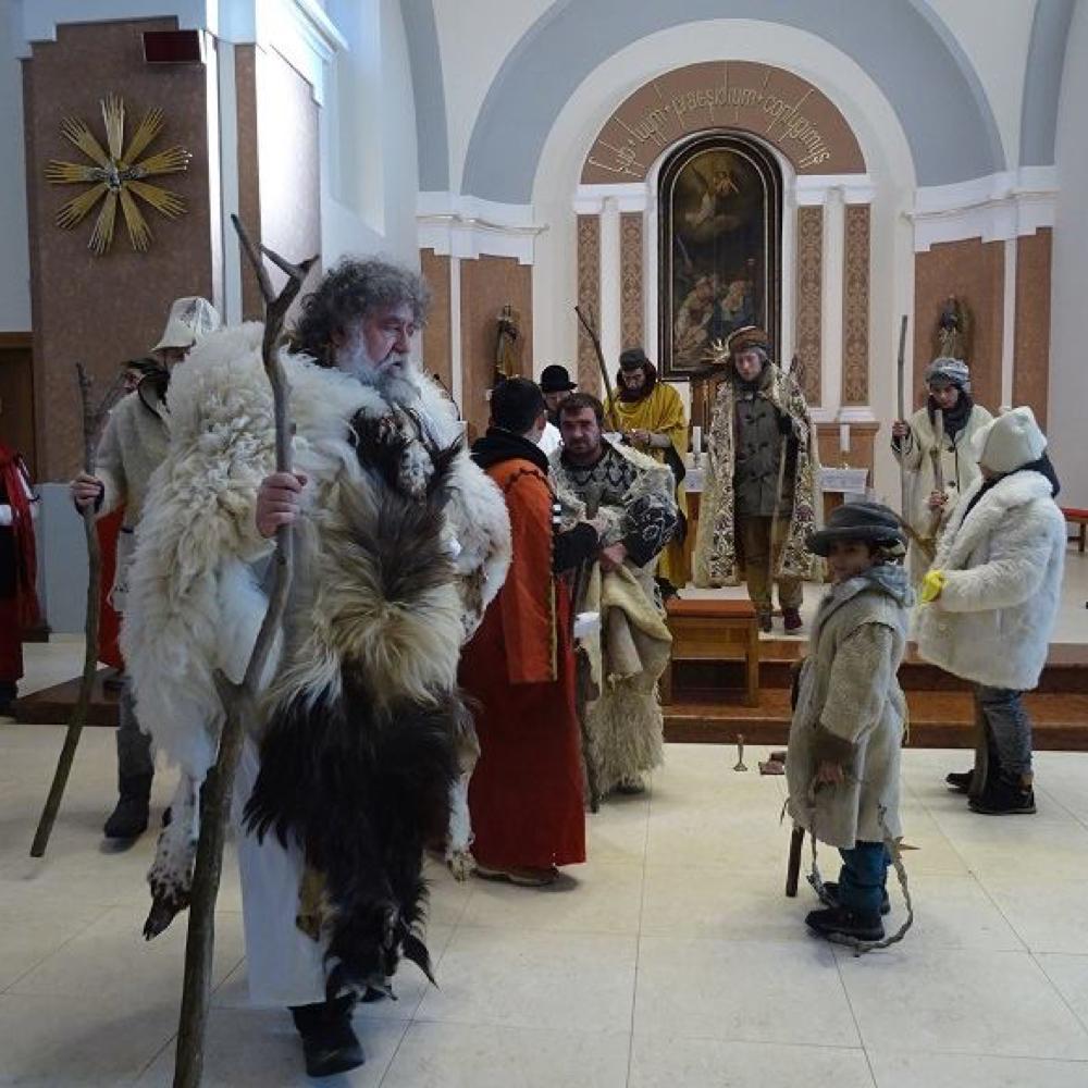 Ezüstvasárnapi Mikolai Betlehemes a muzslai templomban