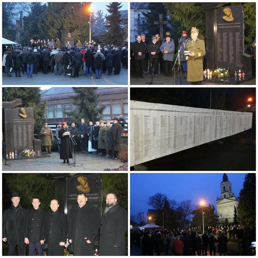 75 éve a Don-kanyarnál elhunyt honvédekre emlékeztünk Szőgyénben