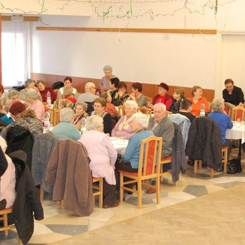 A nyugdíjasklub évzáró közgyűlése 2018