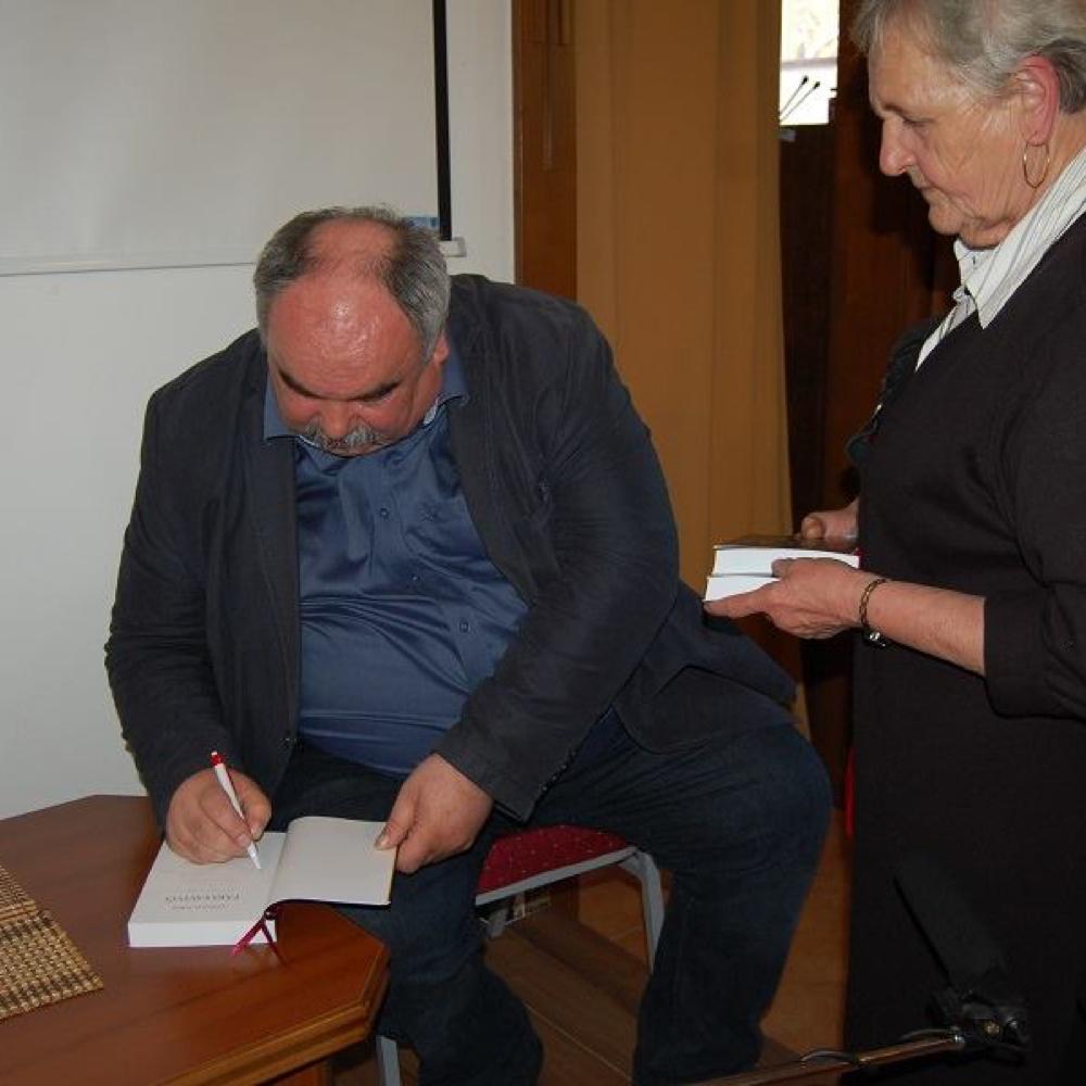 Szomolai Tibor A klán című könyvének bemutatója