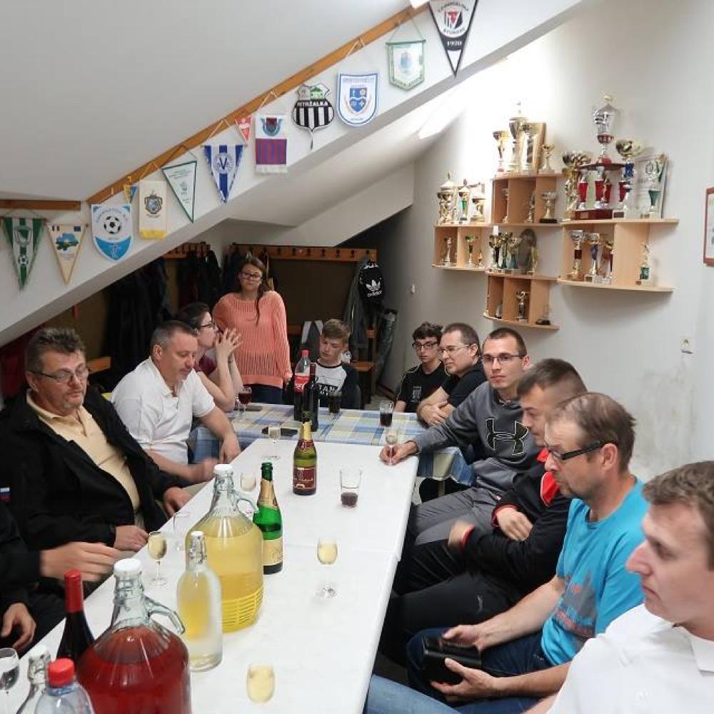 A muzslai asztaliteniszezők szezonértékelő taggyűlése