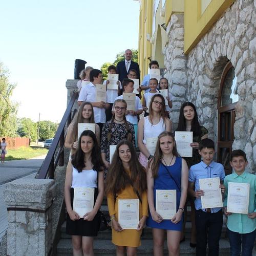 Slávnostné ukončenie školského roka na ZŠ J.Endrődyho  v Mužle