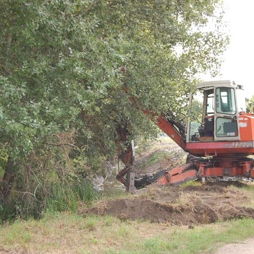Ďalej pokračuje aj čistenie potoka