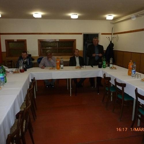 A TJ AC Muzsla évzáró taggyűlése
