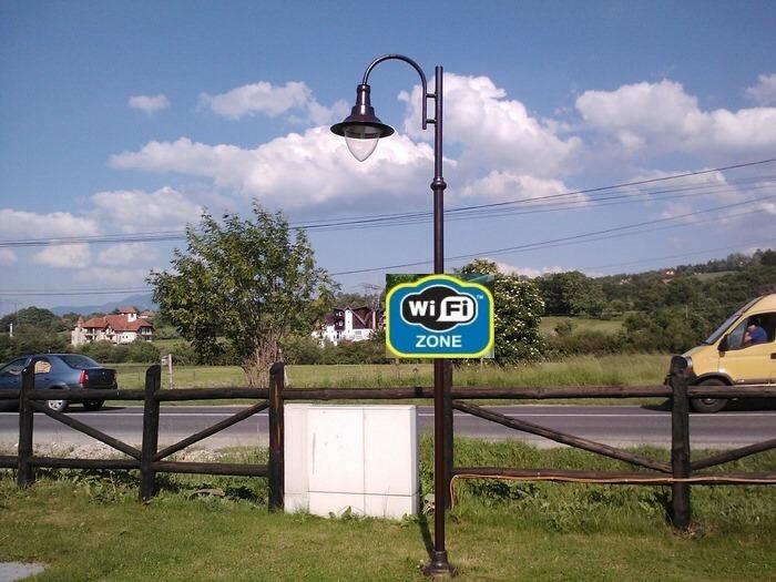 Ingyenes WiFi-pontok Muzslán