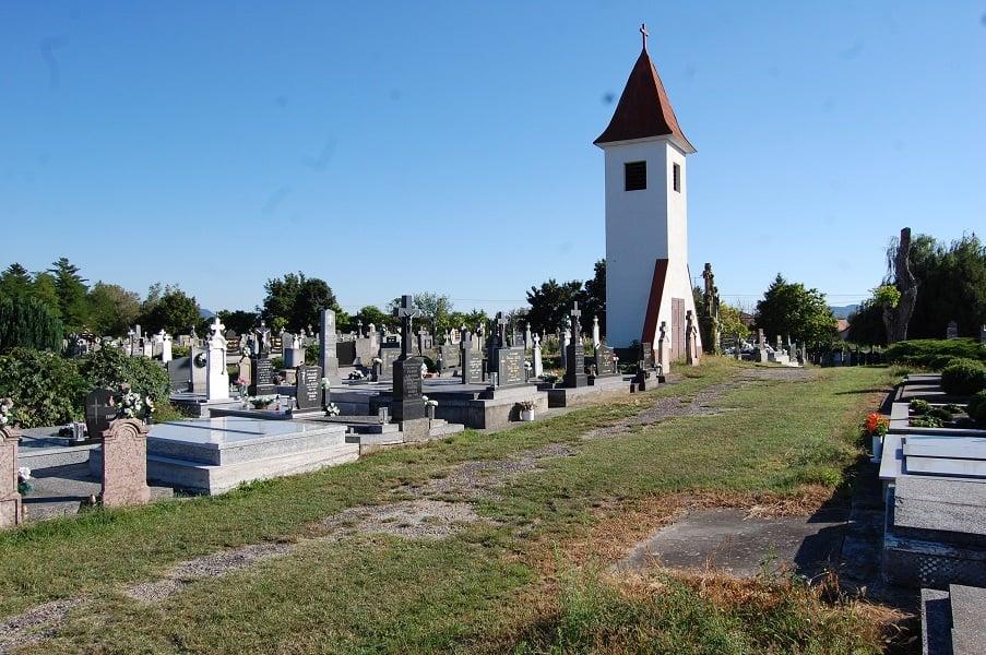 A muzslai temető mai arculata