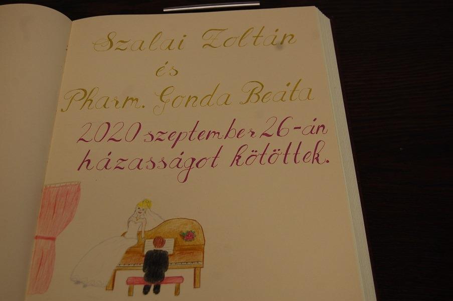 Szalai Zoltán és Gonda Beáta esküvője