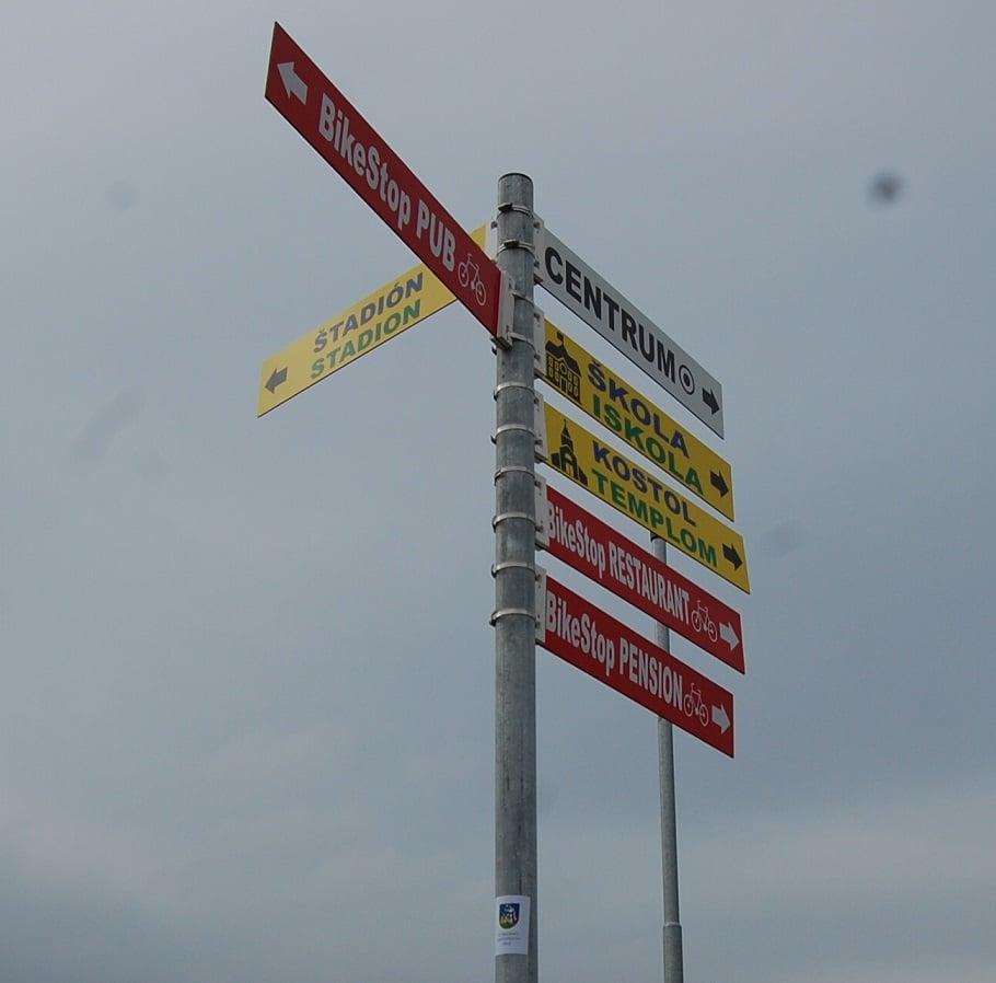 Tájékoztató táblák lettek telepítve Muzslán