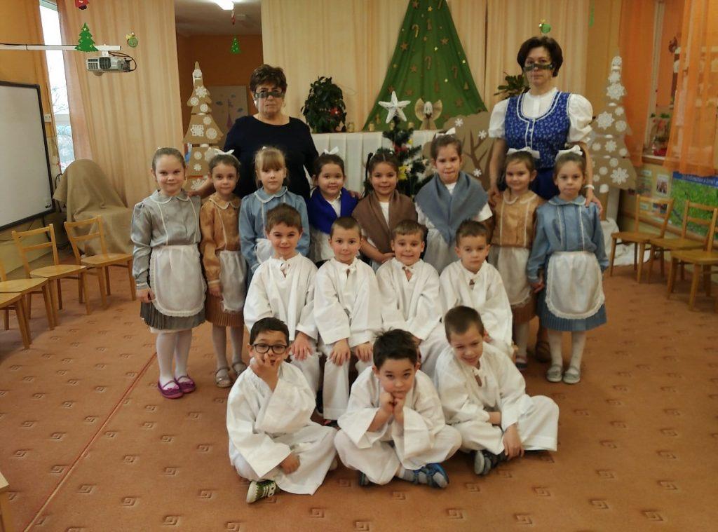 Kedves karácsonyi ünnepség a muzslai óvodában