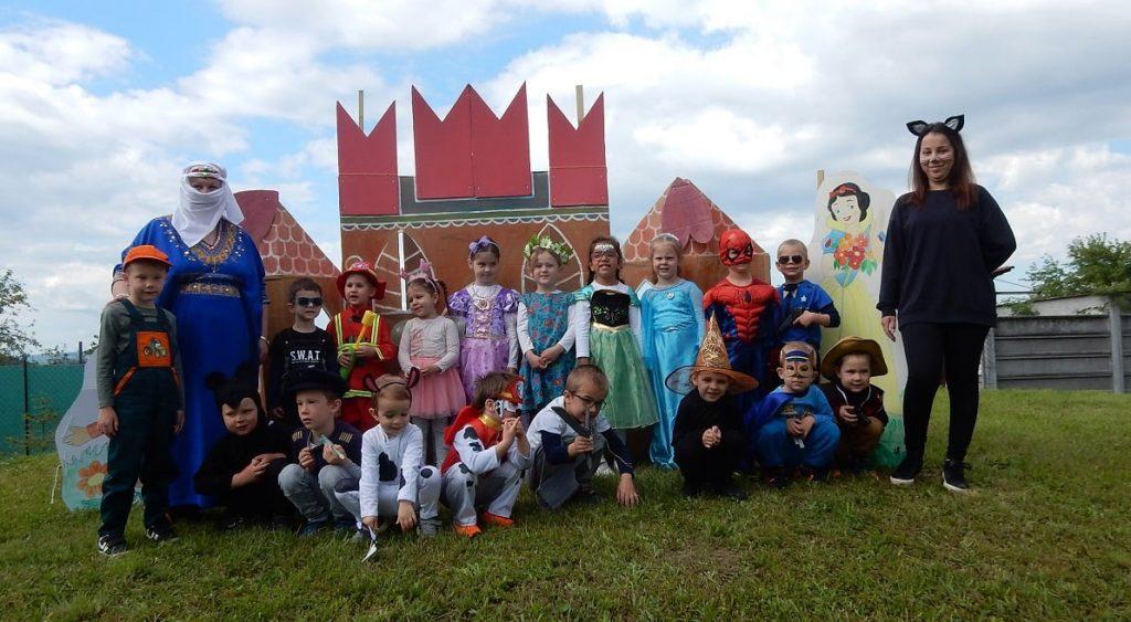 Maškaráda ku dňu detí v muźlianskej materskej škole