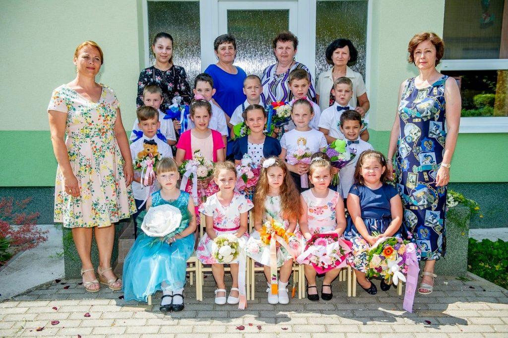 Rozlúčka škôlkarov s materskou školu v Mužle