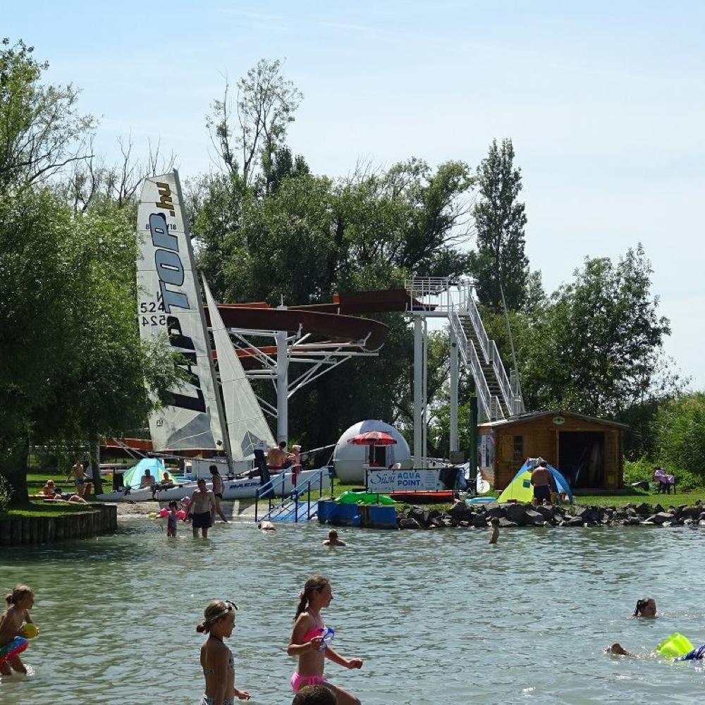 Mužlianske deti sú v letnom tábore pri Balatóne