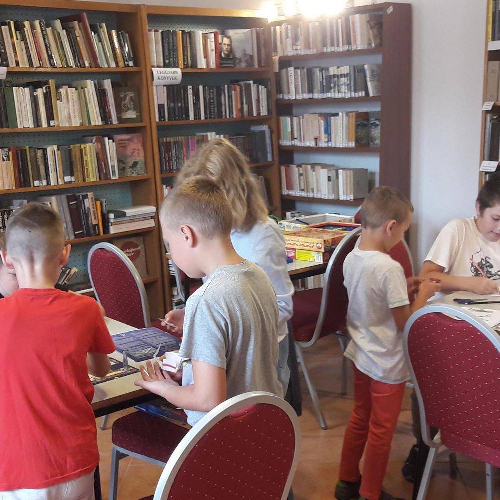Hry pre deti v muźlianskej knižnici počas prázdnin