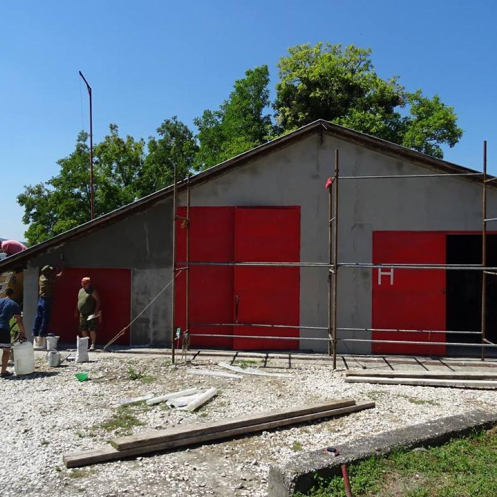 V obci Mužla sa zrekonštruuje aj požiarna zbrojnica