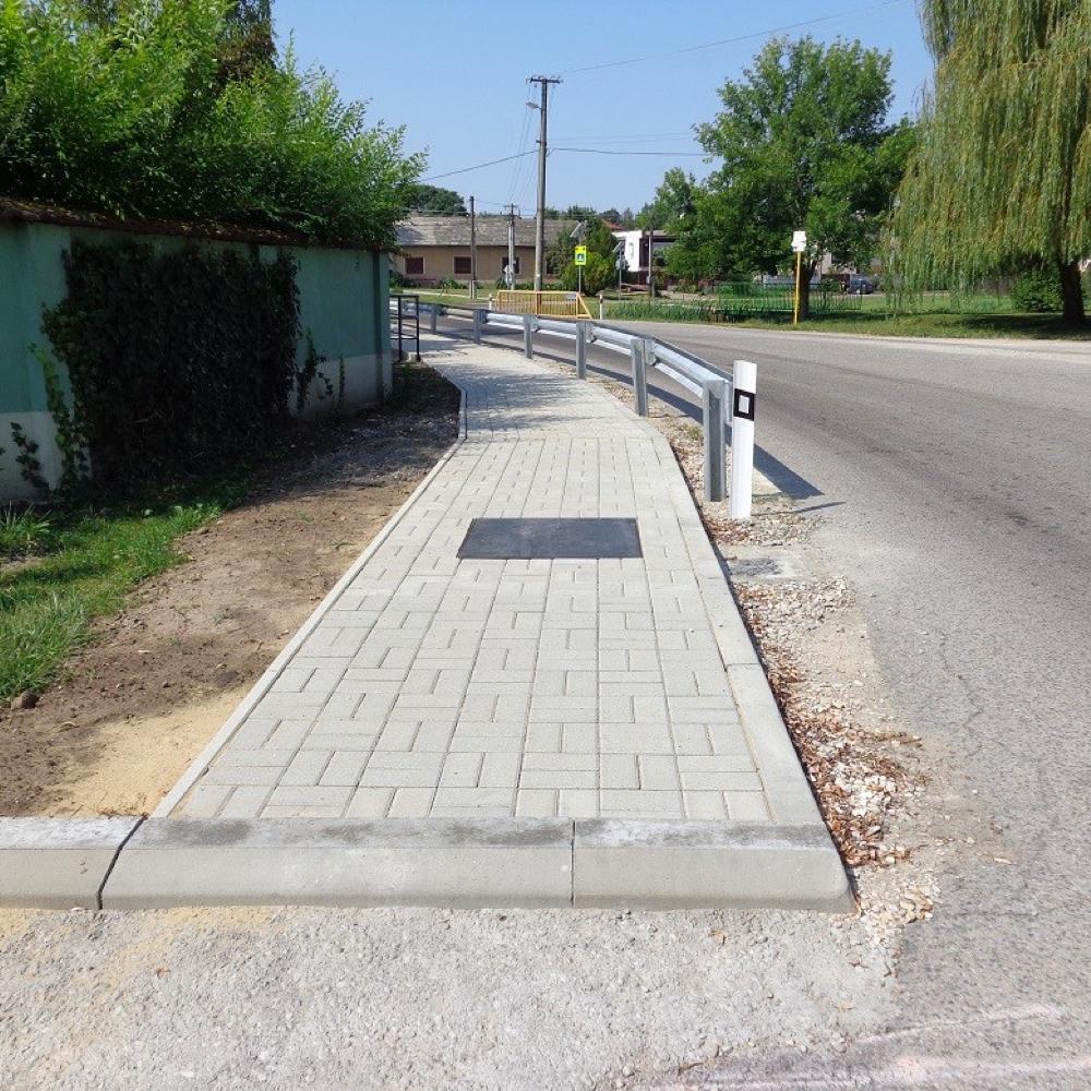 Zásadne sme zvýšili bezpečnosť chodcov v centre obce Mužla