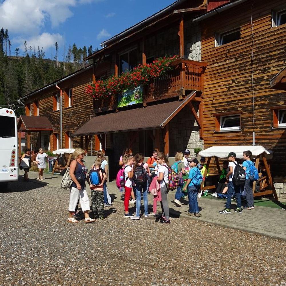 Mužlianski piataci odišli do školy v prírode v Slovenskom raji