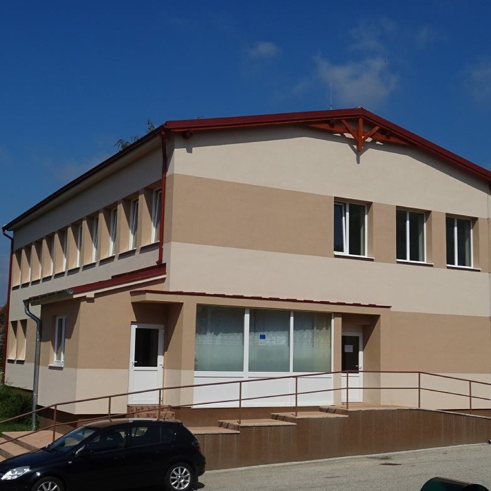 Dom služieb v obci Mužla je po rozsiahlej rekonštrukcii
