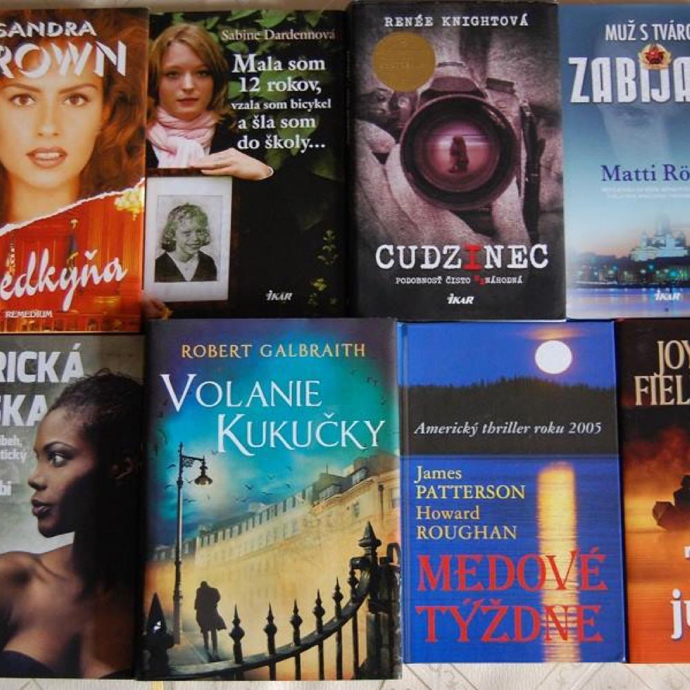 Nové slovenské knihy v miestnej knižnici