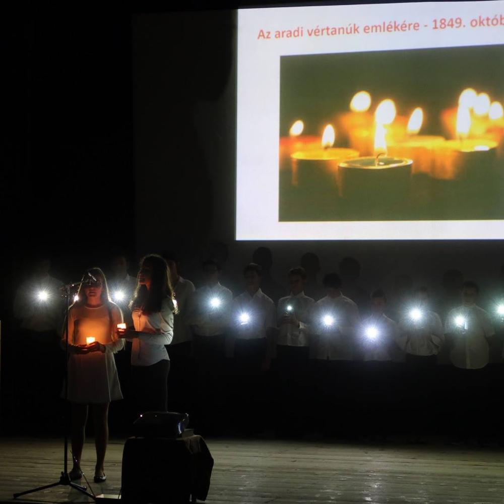 Slávnostná spomienka na martýrov z Aradu