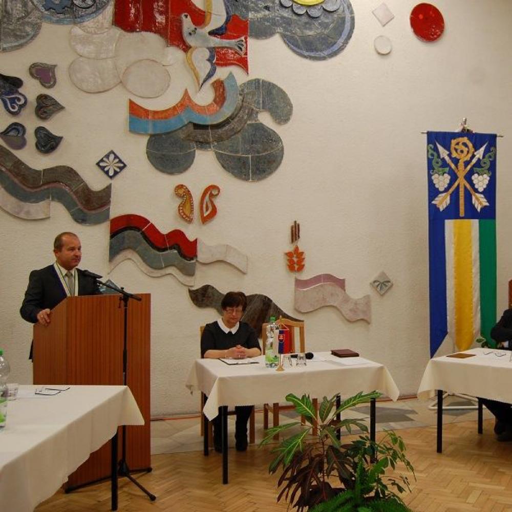 Ustanovujúce zasadnutie Miestnej samosprávy v Mužle