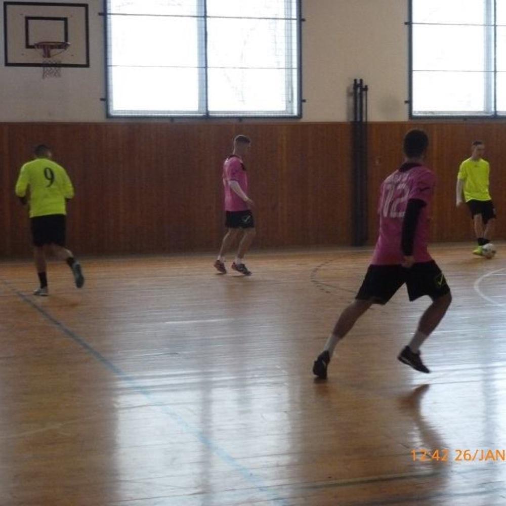 IV. Novoročný turnaj sálového futbalu