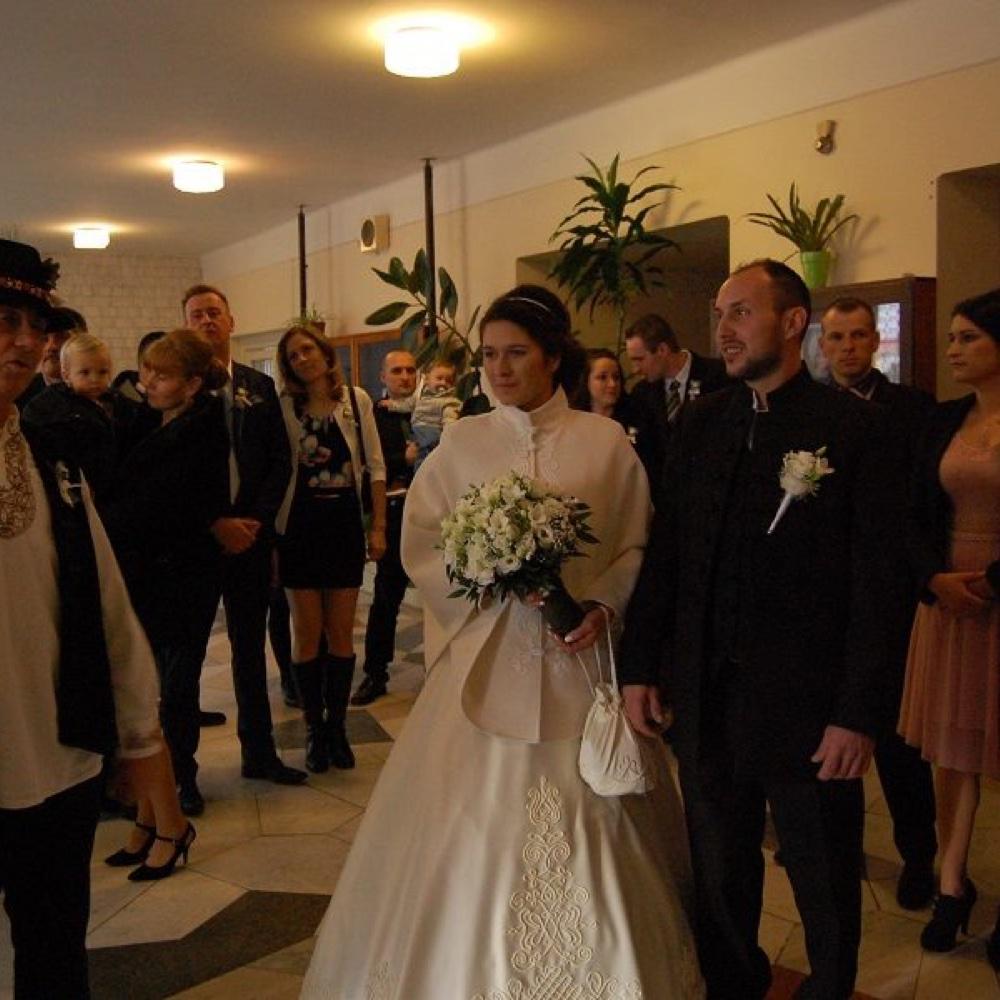 Sobáš Tibora Bolzána a Emőke Albert