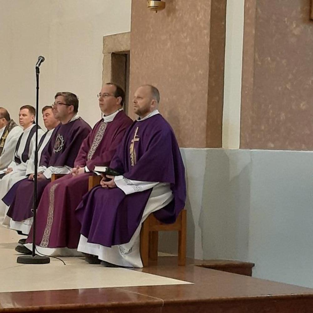 Rekolekcia farárov v mužlianskom R.kat. kostole