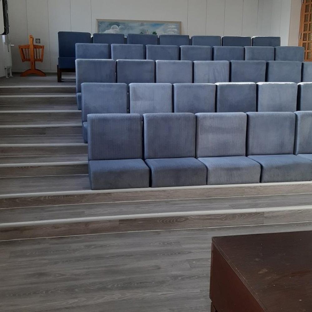 Pokračujeme v rekonštrukcii Obecného úradu v Mužle