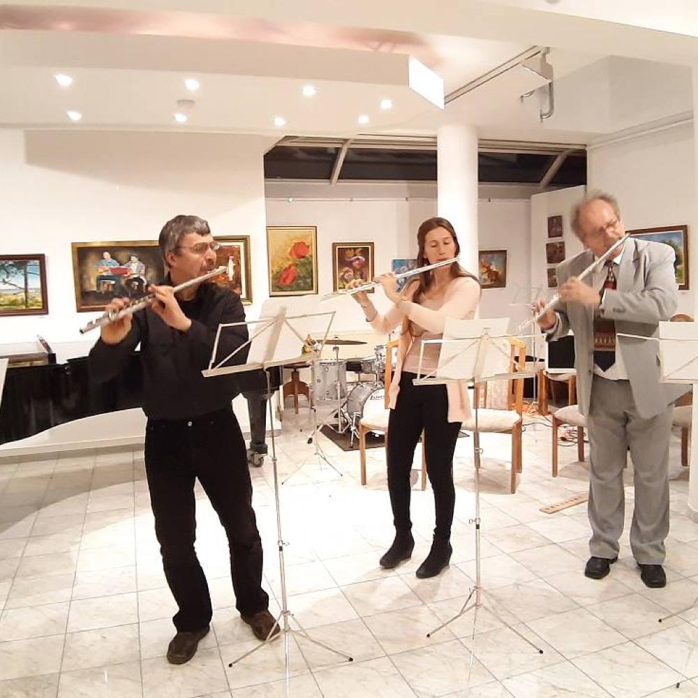 Koncert učiteľov základných umeleckých škôl v Nyergesújfalu