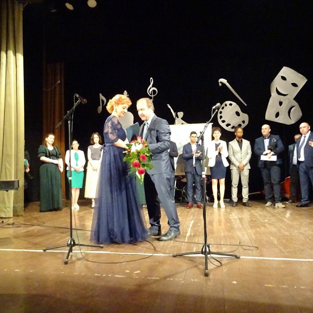 Slávnosť Základnej umeleckej školy K.Pappovej ku Dňu učiteľov