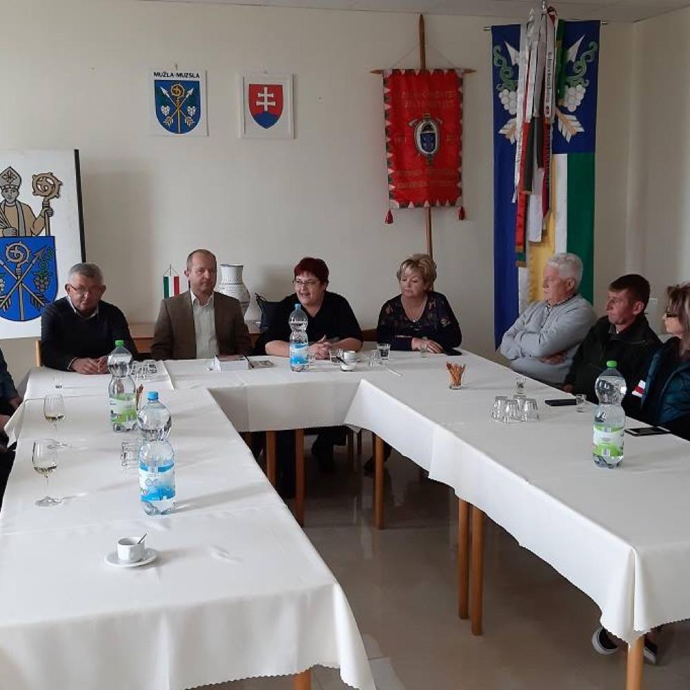 V našej obci sme privítali dobrovolných ochrancov poriadku z Balatonszárszó