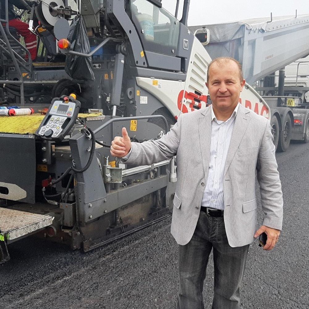Rekonštrukcia vozovky krajskej cesty v obci Mužla