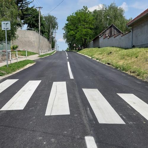 Dokončila sa rekoštrukcia vozovky mužlianksej cesty na kostolný vrch