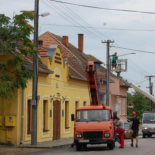 Úplná obnova verejného osvetlenia v obci