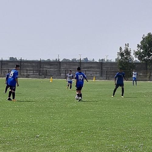 Športový deň na futbalovom ihrisku v obci Mužla