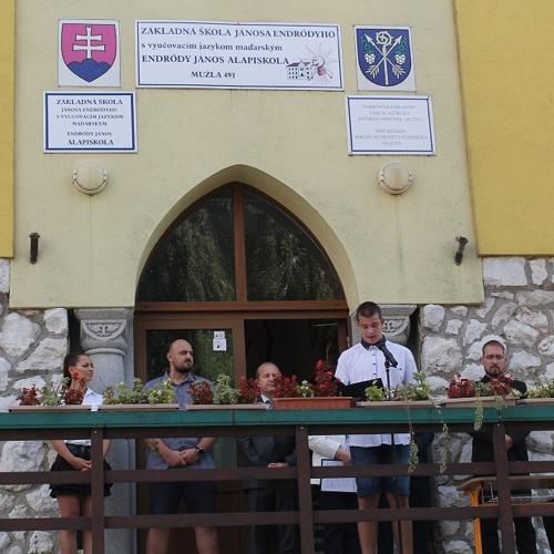 Slávnostné zahájenie školského roka na ZŠ J.Endrődyho v Mužle