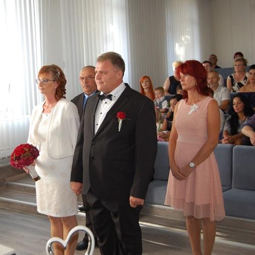 Uzavrerie mamželstva medzi Szőke András a Berecz Ivett