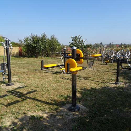 Nový prírodný fitnes park v obci Mužla