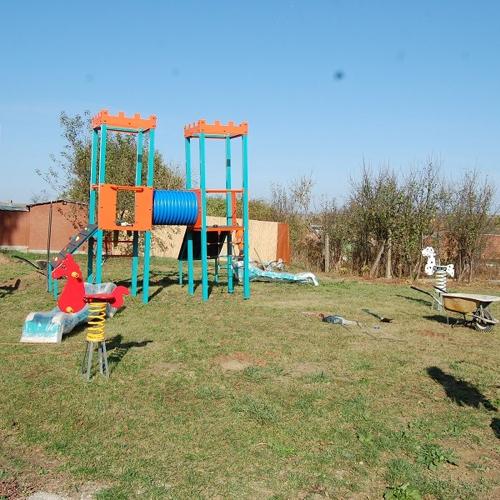 Detské ihrisko a fitness centrum