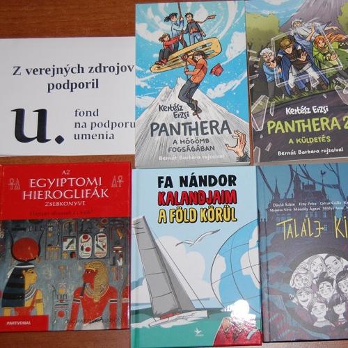 Nové knihy v knižnici