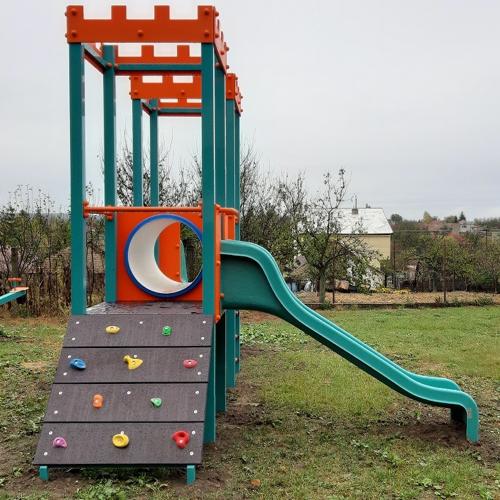 Nové detské ihrisko v obci Mužla
