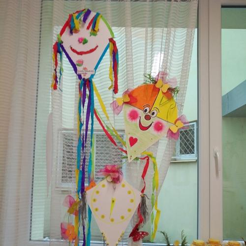 Výstava šarkanov v mužlianskej materskej škole