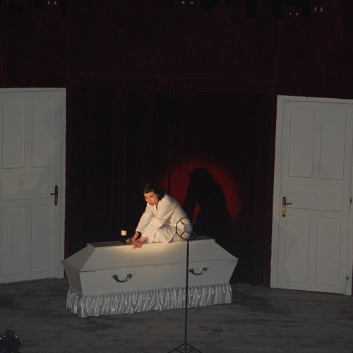 Predstavenie Jókaiho divadla Edith a Marlene v Mužle