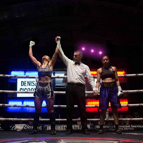 K.O. víťazstvo Denise Čičóovej v londýnskom ringu
