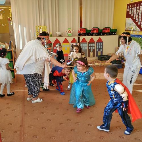 Maškarný ples v mužlianskej materskej škole