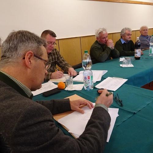 Výročná schôdza mužlianskeho poľovníckeho združenia Divé husi