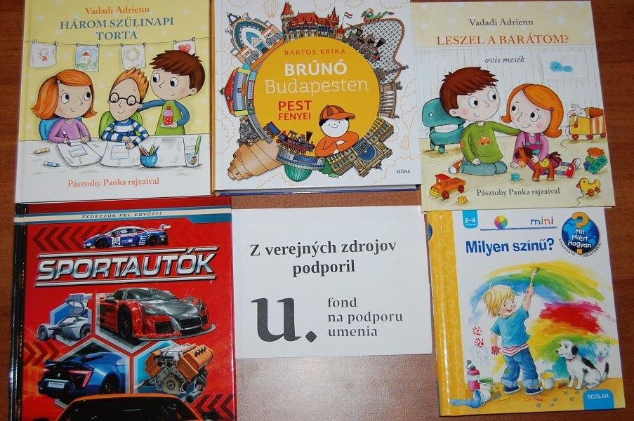 Nové kniky v knižnici