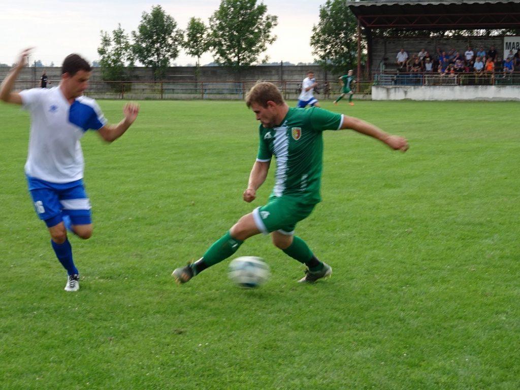 Majstrovský futbalový zápas V. ligy:  AC Mužla – Lipová 4:3